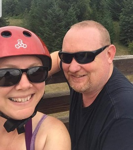 Biking at Banks Vernonia Trail